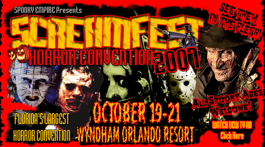 the conventions of horror advertisement The annual horrorhound convention feature major horror and science fiction stars from both big and small screens at the sharonville convention center on march 24, 2018.