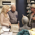 "FACE OFF -- ""Flights of Fantasy"" Episode 512 -- Pictured: (l-r) McKenzie Westmore, Michael Westmore, Roy Wooley -- (Photo by: Nicole Wilder/Syfy)"