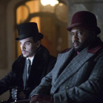 "DRACULA -- ""A Whiff of Sulfur"" Episode 2 -- Pictured: (l-r) Jonathan Rhys Meyers as Alexander Grayson, Nonso Anozie as R.M. Renfield -- (Photo by: Jonathon Hession/NBC)"
