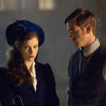 "DRACULA -- ""A Whiff of Sulfur"" Episode 2 -- Pictured: (l-r) Jessica De Gouw as Mina Murray, Oliver Jackson-Cohen as Jonathan Harker -- (Photo by: Jonathon Hession/NBC)"