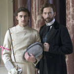 "DRACULA -- ""A Whiff of Sulfur"" Episode 2 -- Pictured: (l-r) Lewis Rainer as Daniel Davenport, Anthony Howell as Lord Stephen Laurent -- (Photo by: Jonathon Hession/NBC)"