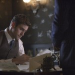 "DRACULA -- ""Goblin Merchant Men"" Episode 103 -- Pictured: Oliver Jackson-Cohen as Jonathan Harker -- (Photo by: David Lukacs/NBC)"