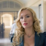 "DRACULA -- ""Goblin Merchant Men"" Episode 103 -- Pictured: Victoria Smurfit as Lady Jayne Wetherby -- (Photo by: Jonathon Hession/NBC)"