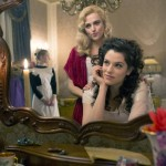 "DRACULA -- ""Goblin Merchant Men"" Episode 103 -- Pictured: (l-r) Katie McGrath as Lucy Westenra, Jessica De Gouw as Mina Murray -- (Photo by: Jonathon Hession/NBC)"