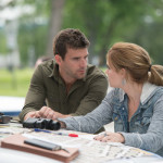 "HAVEN -- ""Crush"" Episode 408 -- Pictured: (l-r) Lucas Bryant as Nathan Wuornos, Emily Rose as Audrey Parker -- (Photo by: Michael Tompkins/Syfy)"