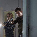 "HAVEN -- ""William"" Episode 409 -- Pictured: (l-r) Emily Rose as Audrey Parker, Lucas Bryant as Nathan Wuornos -- (Photo by: Michael Tompkins/Syfy)"