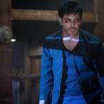 "GRIMM -- ""PTZD"" Episode 302 -- Pictured: David Giuntoli as Nick Burkhardt -- (Photo by: Scott Green/NBC)"