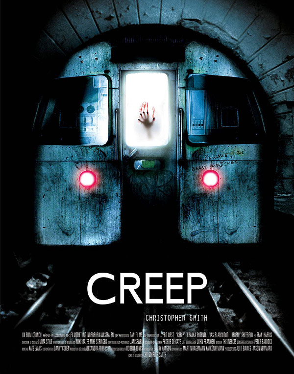 creep 2004 horror poster