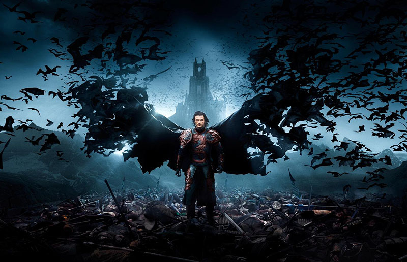 Dracula Untold Retina Movie Wallpaper: The Queen Of Scream