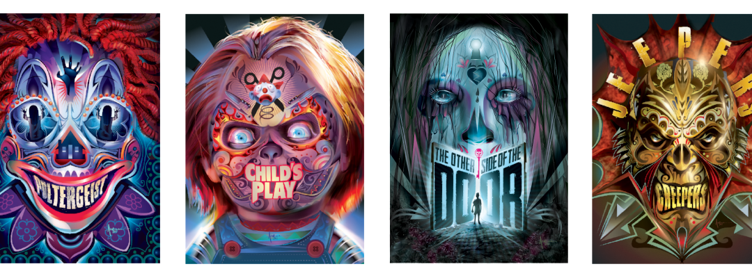 Horror Classics Come to DVD for Halloween with Custom Cover Art